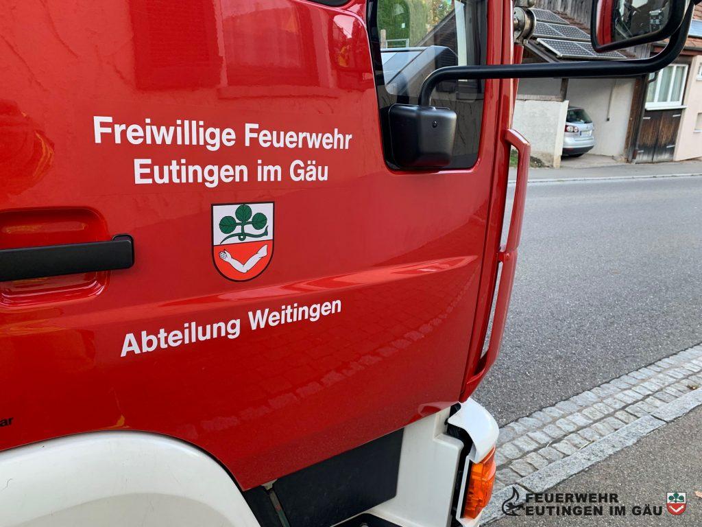 Feuerwehrauto Weitingen