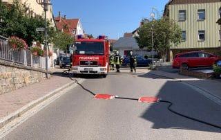 PKW Brand in Weitingen
