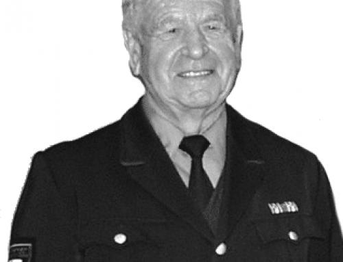 Wir trauern um unseren Ehrenkommandanten Anton Nesch