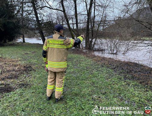 Aktuelle Hochwasser Situation