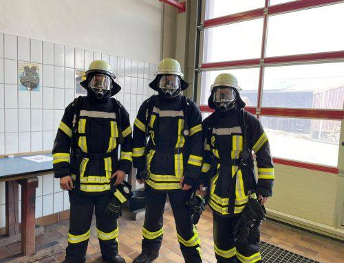 Drei neue Atemschutzgeräteträger in Weitingen