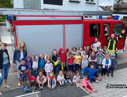 Brandschutzerziehung im Kindergarten