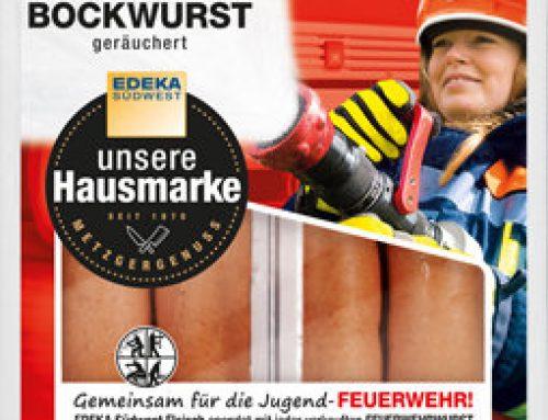 Gemeinsam für die Jugendfeuerwehr: EDEKA Rentschler Eutingen und Feuerwehr Eutingen im Gäu