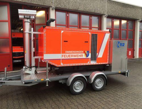Netzersatzanlage für das Feuerwehrhaus in Eutingen